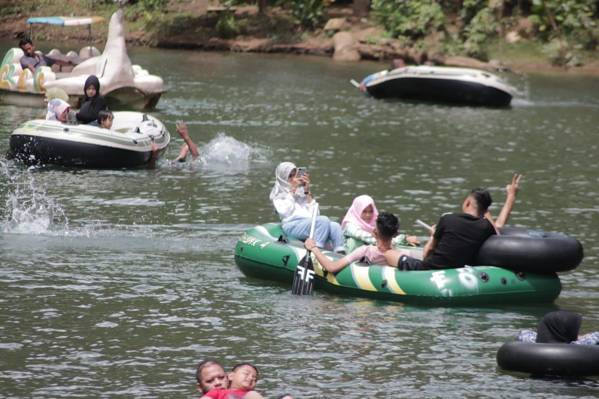 Meski Pandemi, Lokasi Wisata Brayeun Ramai Dikunjungi