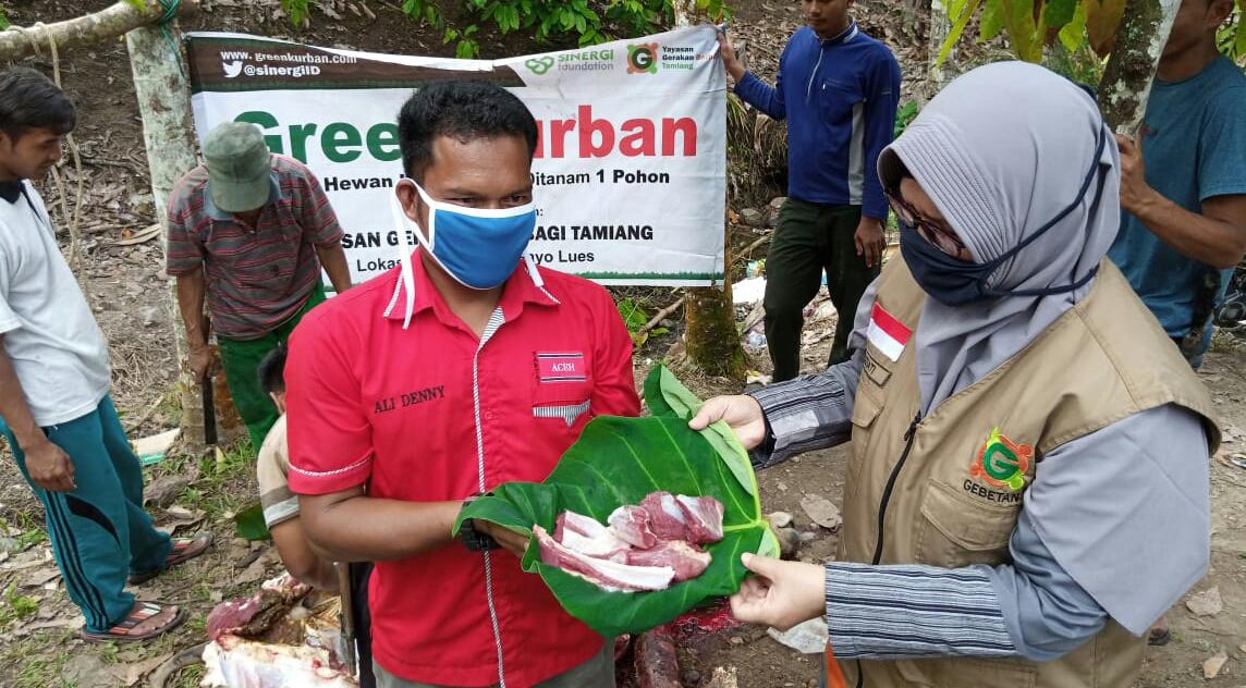 GKSF Salurkan Hewan Kurban di Lima Desa Pedalaman Gayo Lues