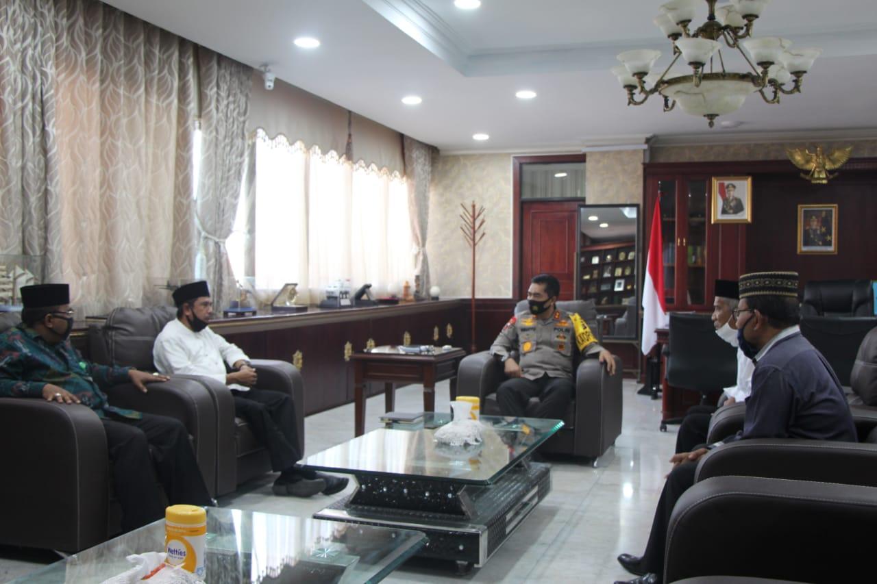 Kemenag dan Polda Aceh Sepakat Tekan Penyebaran Covid-19