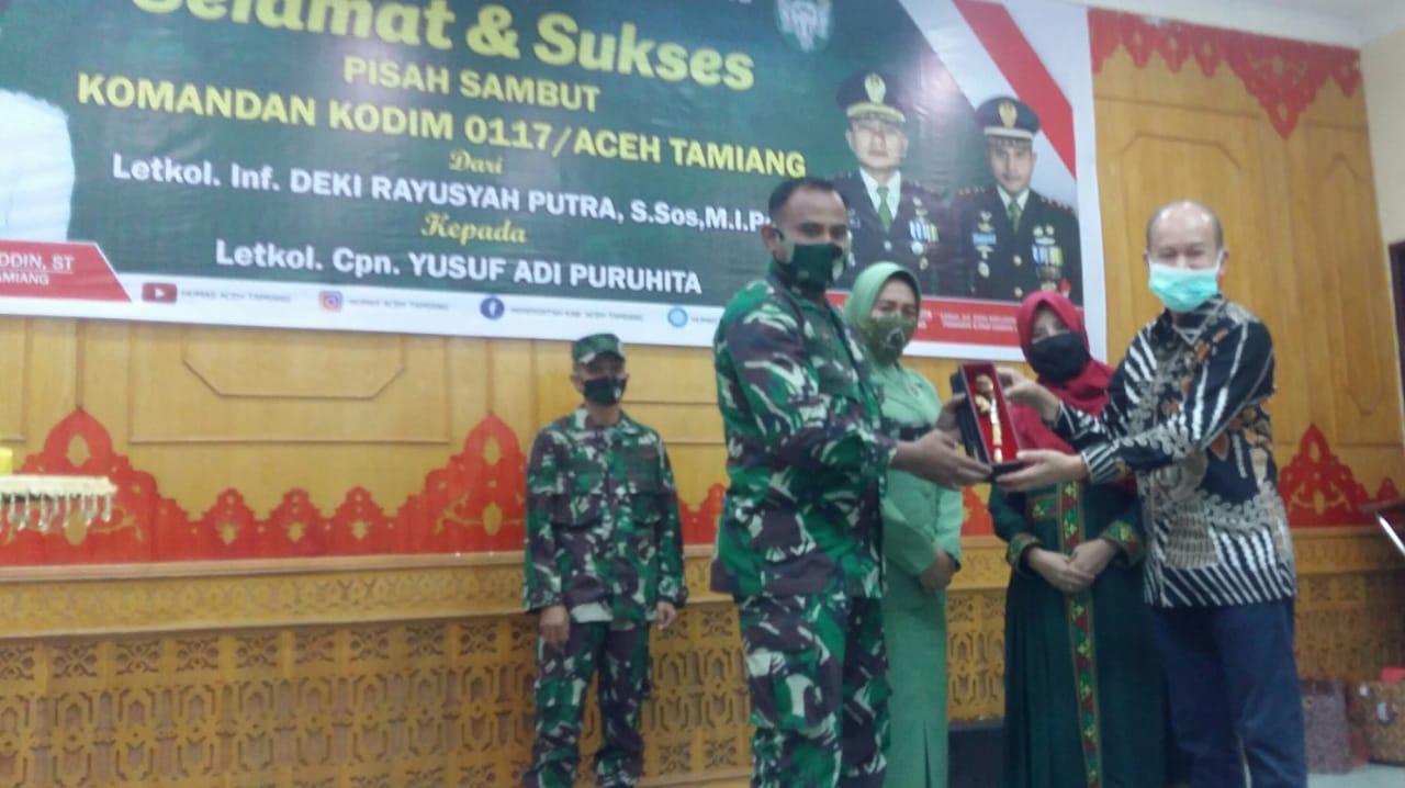 Pemkab Aceh Tamiang Gelar Lepas Sambut Dandim 0117 Atam