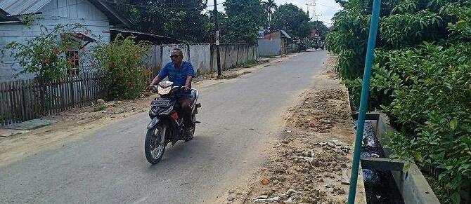 Kena Proyek Galian Jargas, Pipa PDAM Tirta Tamiang Bocor