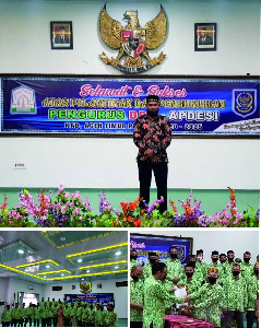 Syamsuar Terpilih Sebagai Ketua APDESI Aceh Timur