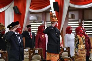 Forkopimda Aceh, Upacara HUT RI Ke-75 di Istana Kepresidenan Secara Virtual