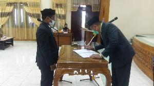 Sekda Aceh Tamiang Lantik Ismail Jadi Direktur PDAM Tirta Tamiang