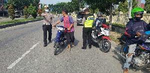 312 Pengendara di Aceh Tamiang Terjaring Razia Operasi Patuh Seulawah 2020