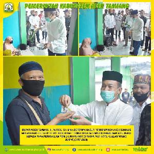 Peusijuk 41 Kios, Bupati Aceh Tamiang Pesan Jaga Kebersihan