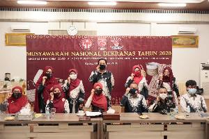 Dekranasda Aceh Ikuti Munas Dekranas tahun 2020 Secara Virtual