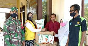 Tingkatkan Ketahanan Pangan, Koramil 09/Trumon Salurkan Bibit Jagung Bagi Petani