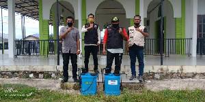 Cegah Penyebaran Covid-19, BPBD Disinfeksi 90 Meunasah di Kota Banda Aceh