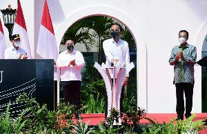 Presiden Jokowi Resmikan Bandara YIA Senilai Rp 11,3 triliun