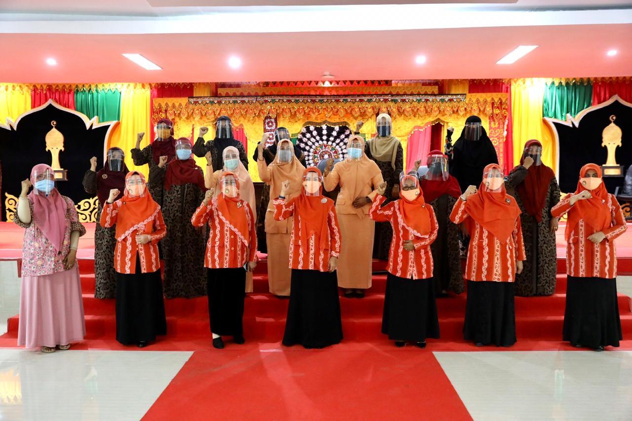 Ketua DWP Aceh: Pakai Masker adalah Ikhtiar