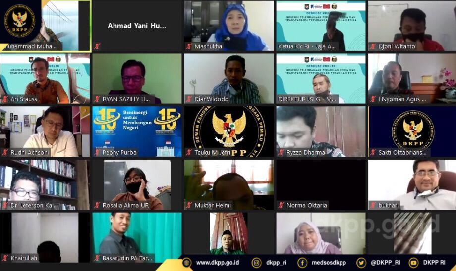 Prof. Muhammad: Saksi Peringatan Adalah Pesan Cinta, Edukasi dan Warning DKPP