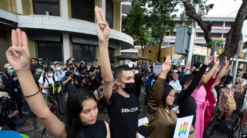 Demonstran Thailand Tegaskan Tuntutan Perubahan Sistem Politik