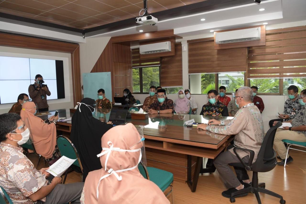 Sekda Aceh Instruksikan Jajaran RSUDZA Lebih Waspada dan Disiplin