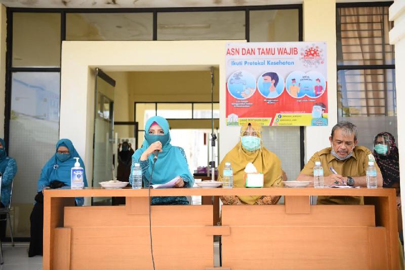 Dyah Kampanyekan Gebrak Masker ke Seluruh SKPA