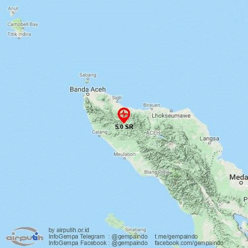 Gempa 5 0 Magnitudo Guncang Pidie Jaya Dirasakan Hingga Ke Banda Aceh Dialeksis Dialetika Dan Analisis