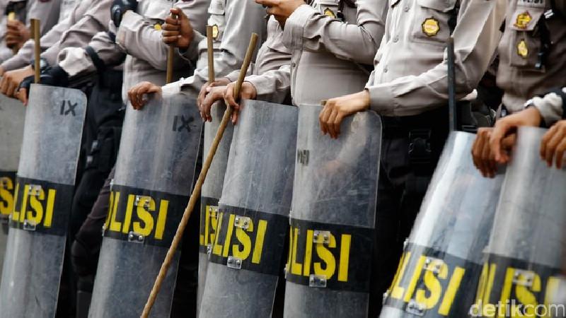 5800 Personel Polri-TNI Amankan Demo Tolak RUU Cipta Kerja