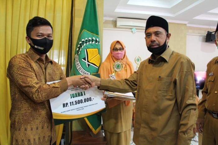 Ini Para Pemenang Kompetisi Film Pendek Jejak Wali Nusantara yang Digelar Kemenag Aceh