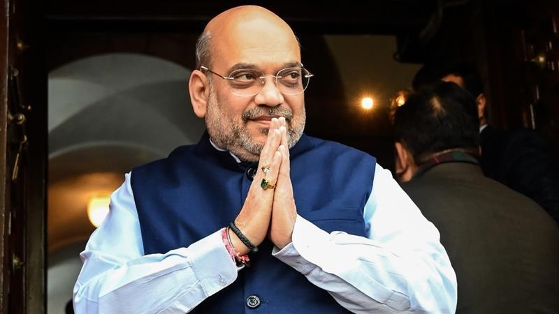Menteri Dalam Negeri India Positif Corona