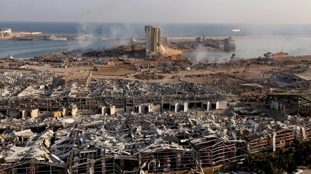 Jumlah Tewas Ledakan Lebanon 135 Orang, 5.000 Terluka