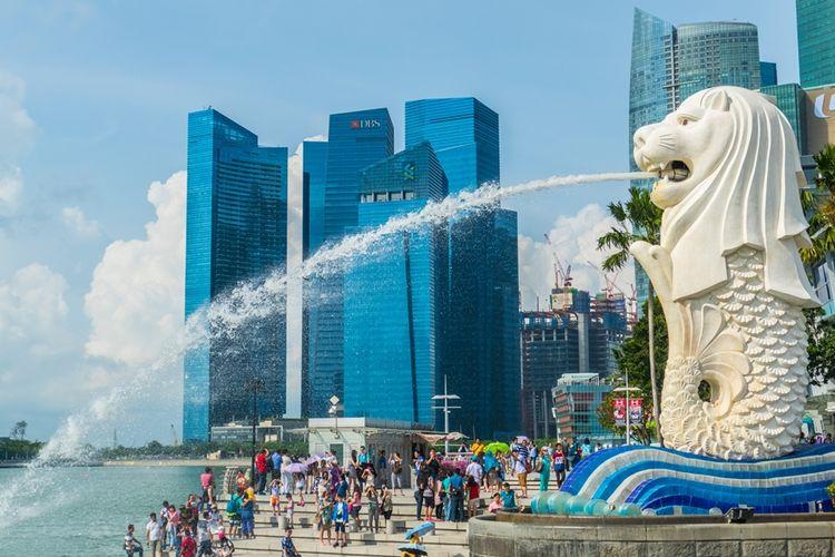 Resesi Singapura, Ekonomi Minus 42,9 persen