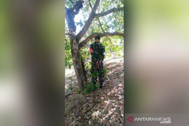 Anggota TNI Ditemukan Tewas Tergantung di Pohon