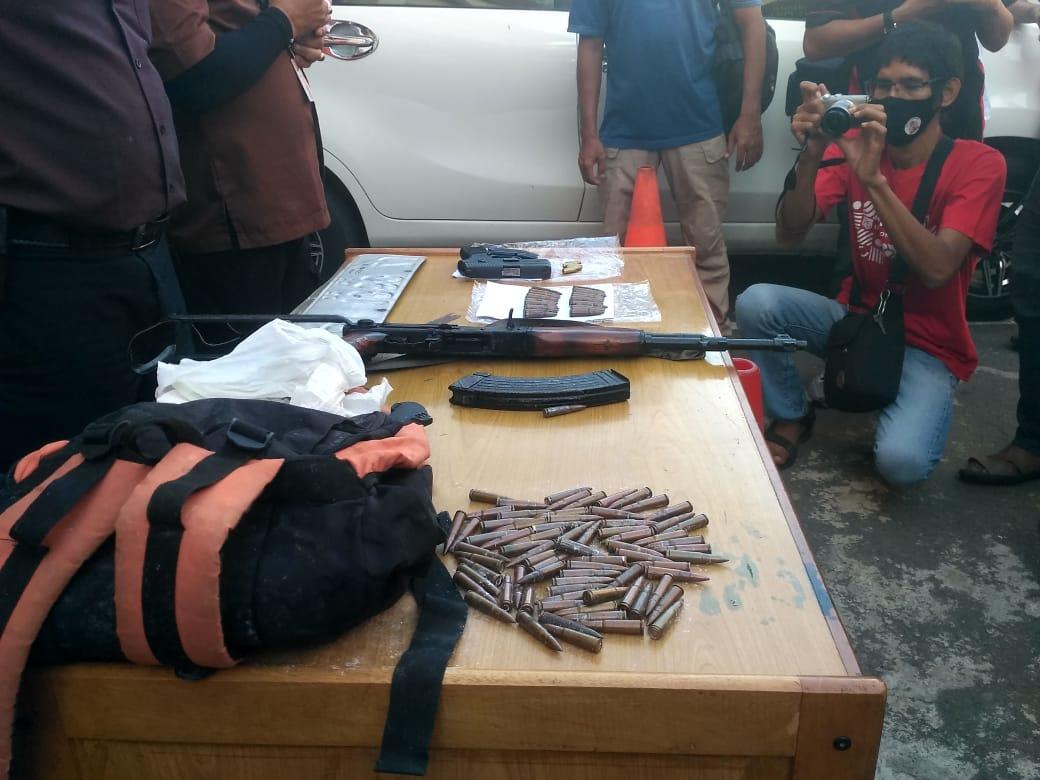 Pengusaha Aceh Diculik Kelompok Bersenjata Api, AK 56 dan Ratusan Amunisi Disita