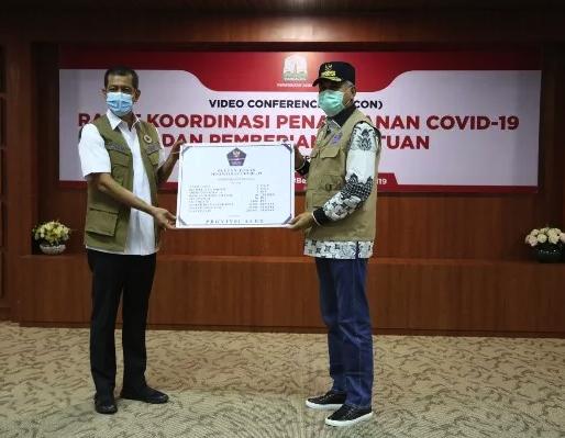 Pemerintah Aceh Terima Bantuan Alkes dari BNPB Pusat  untuk Penanganan Covid-19