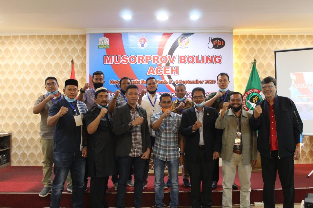 Pengprov Bowling Aceh Terbentuk, Tarmizi Panyang Ketua Umum