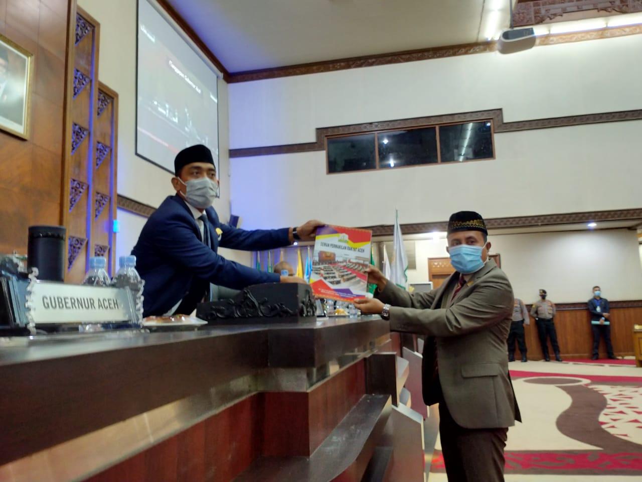 DPRA Tolak Jawaban Plt Gubernur Aceh atas Hak Interpelasi