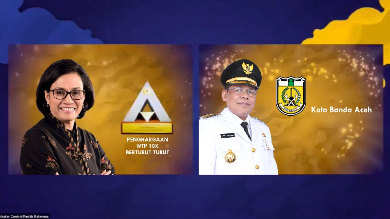 Sri Mulyani Puji Kota Banda Aceh Raih 12 Kali WTP Hasil Audit BPK-RI