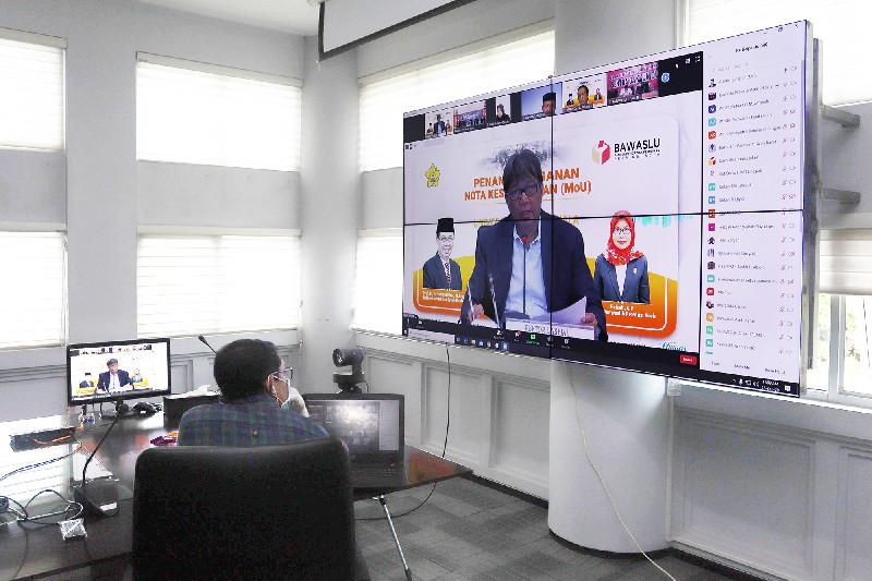 Unsyiah Jalin Kerja Sama dengan Panwaslih Aceh