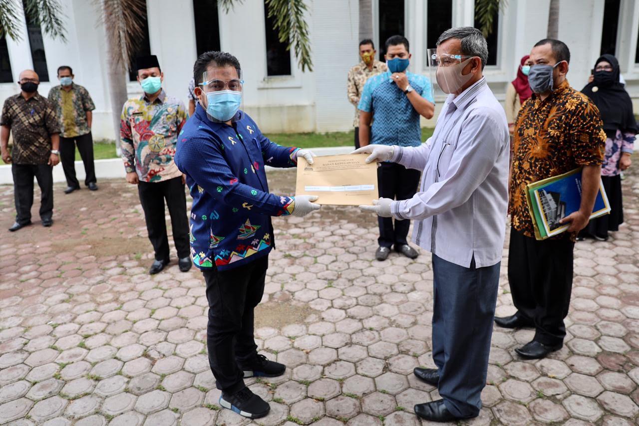 Pensiun dan Kenaikan Pangkat ASN Aceh Besar Diserahkan Pemerintah Aceh