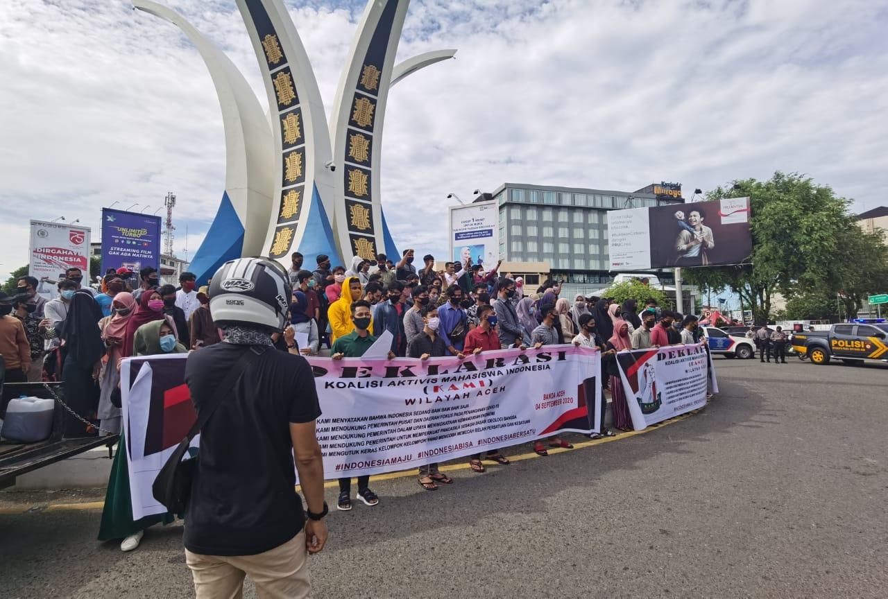 KAMI Aceh Telah Dideklarasikan, Mendukung Kebijakan Pemerintah