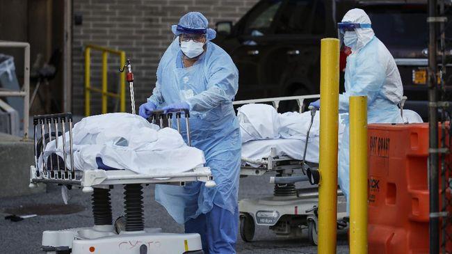 Angkat Kematian Virus Corona di AS Capai 200 Ribu, Tertinggi di Dunia