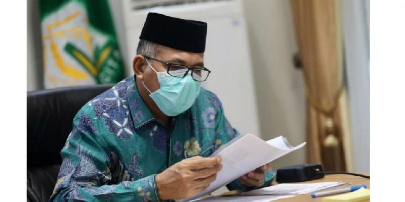 Plt Gubernur Aceh Kembali Perintahkan Bupati/Walikota Sosialisasi Covid-19 di Rumah Ibadah