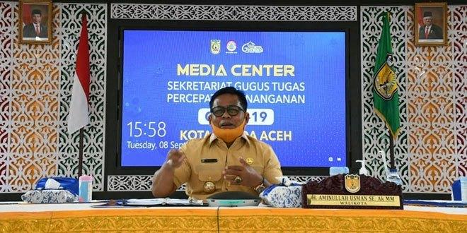 Wali Kota Sapa Warga Via Telepon Interaktif Sosialisasi Perwal 51/2020
