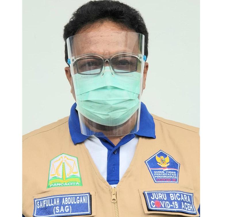 Sudah Dua Ribu Lebih Warga Aceh Terinfeksi Virus Corona