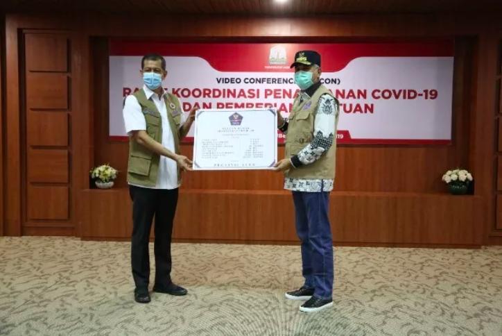 Pemprov Aceh Dapat Bantuan  Alkes Dari BNPB