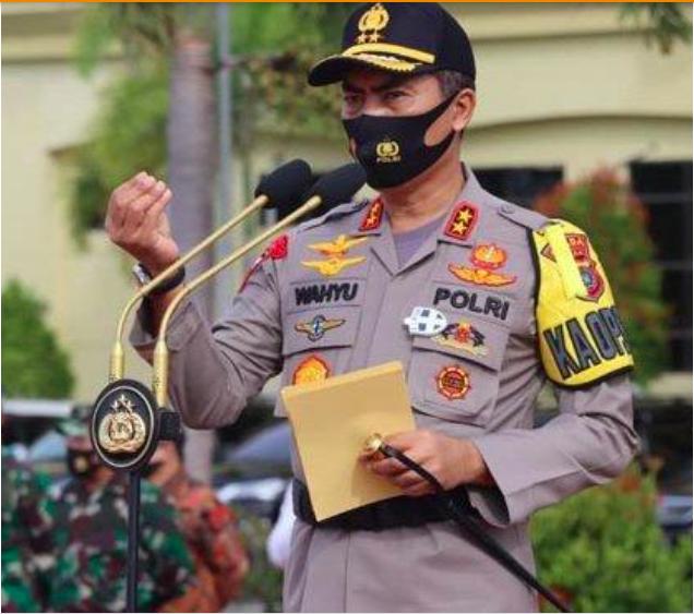 Kapolda Aceh Minta Pemerintah Pusat Tingkatkan Tes Swab Bagi Masyarakat
