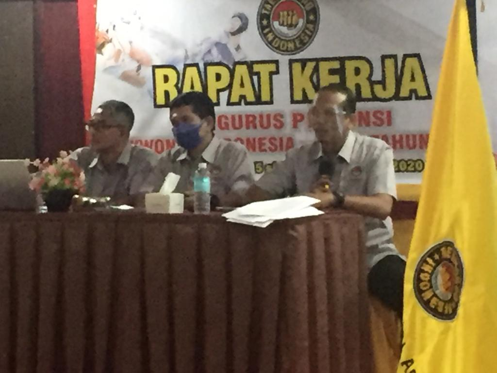 Rapat Kerja Bersama Pengurus Pengprov Taekwondo Se-Aceh