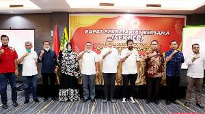 Aceh-Sumut Bahas Persiapan PON