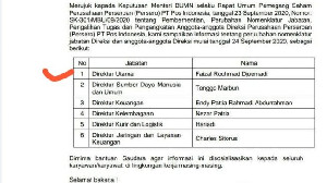 Nezar Patria  Dipercaya Jadi Direktur di PT Pos Indonesia