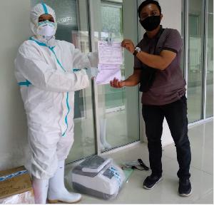 BNPB Kembali Berikan Bantuan  Reagent dan Alat Laboratorium ke Unsyiah