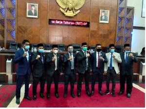 DPR Aceh Tetapkan Lima Anggota Badan Kehormatan Dewan