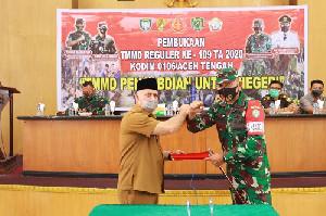 Kegiatan TMMD di Aceh Tengah Resmi Dimulai