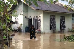Di Aceh Timur Sejumlah Rumah Dilanda Banjir, Akibat Hujan Deras Semalaman