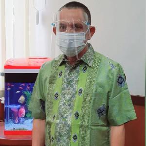 Positif Covid, Upaya  Baong Kadis Perindustrian Aceh Melawan Virus