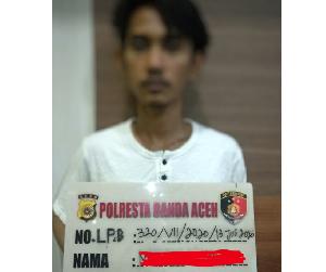 Curi Uang Rp 10 Juta di ATM BNI Banda Aceh, Pria Ini Dibekuk Polisi