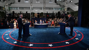 Debat Capres Perdana, Trump dan Biden saling Kecam